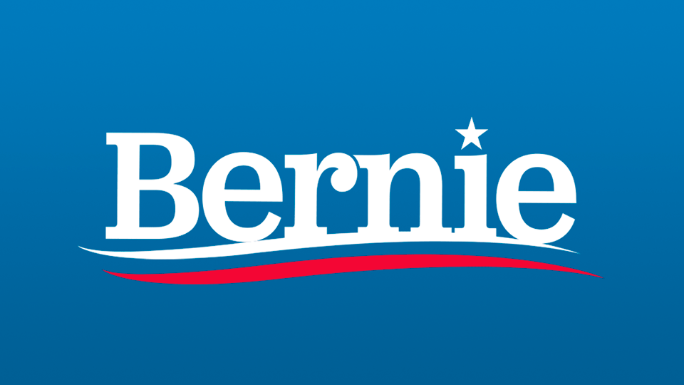 Image result for bernie sanders logo 2020""